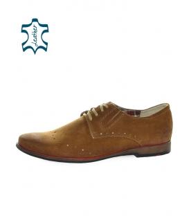 Gnedá pánska obuv 807 ginger wel - Olivia Shoes