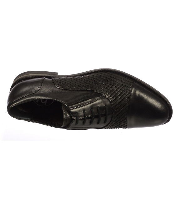 Pánska obuv čierna 728 KL - Olivia Shoes