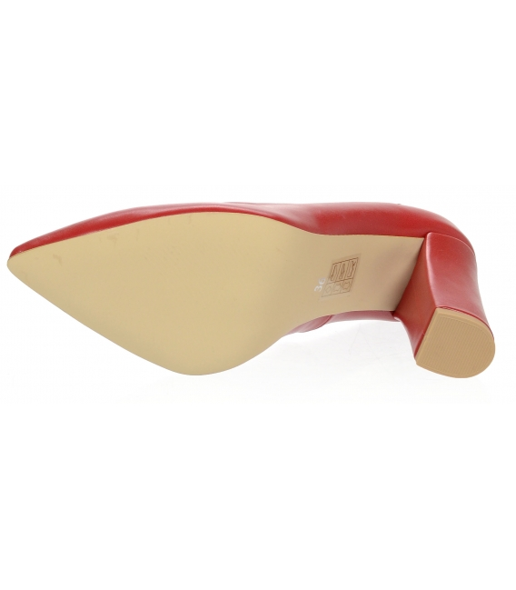 Čierne lodičky 527T nero lico + beige red 226 white pink decor | OLIVIA SHOES