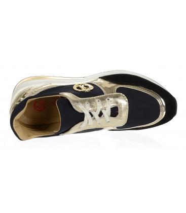Zlato černé tenisky na podešvi KAMILA DTE 3063