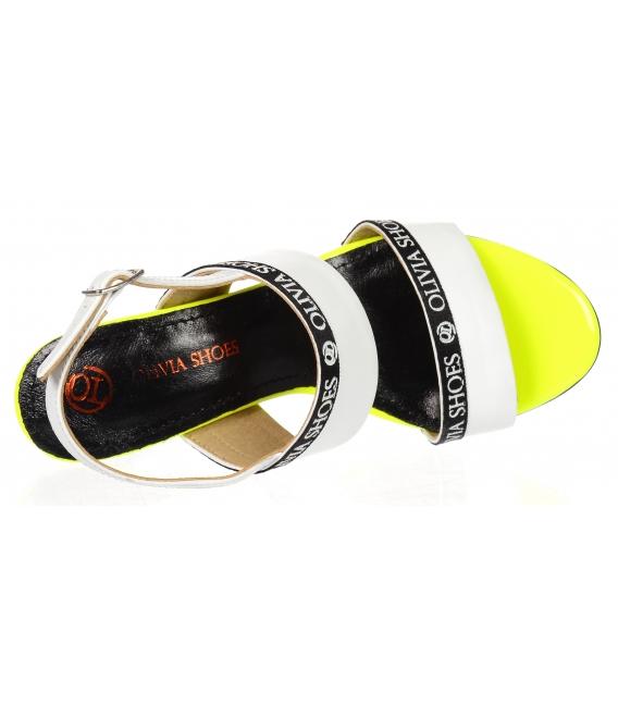 Extra štýlové sandále s ozdobným lemom DSA2210