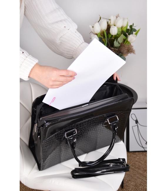 """Čierna elegantná taška na 15,6"""" notebook ST01 - Grosso"""
