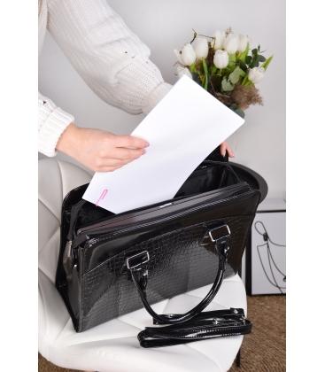 """Černá elegantní taška na 15,6"""" notebook ST01 - Grosso"""