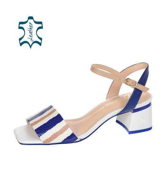 Farebné štýlové dámske sandále 1715-517-653