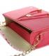 Fuxiová kabelka s kroko vzorom BOBI