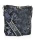 Blue camouflage handbag BODZIO
