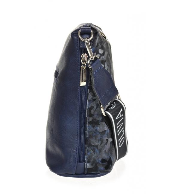 Modrá maskáčová kabelka BODZIO
