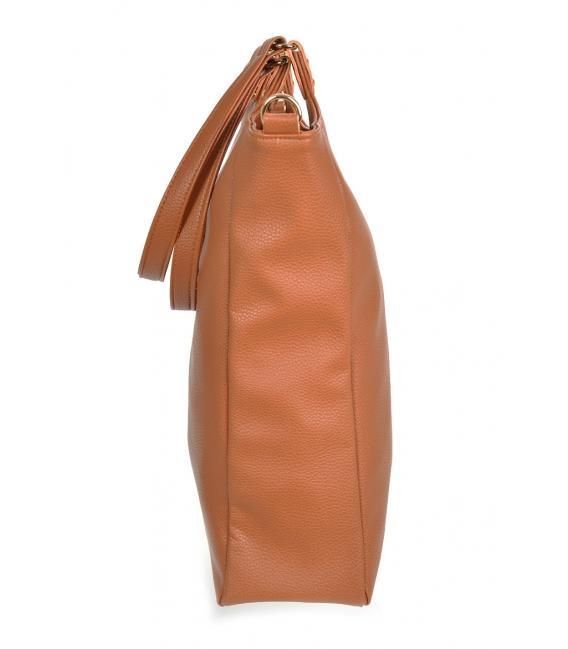 Hnedá veľká kabelka DEMON